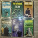 Leslie Ford lot of 6 pb classic mystery novels books vintage