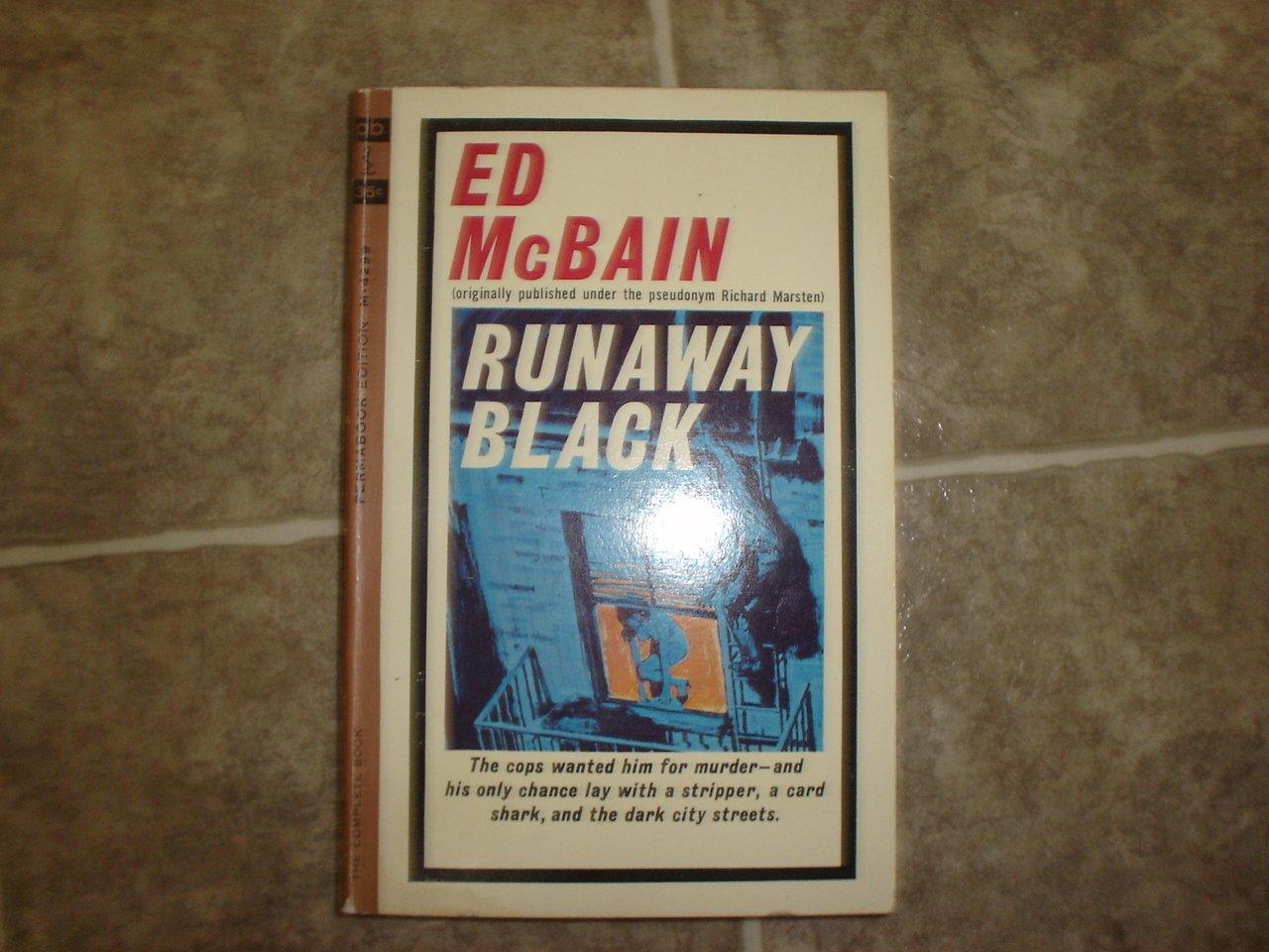 """Ed McBain """"Runaway Black"""" 1964 vintage pulp hardboiled"""