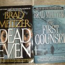 Brad Meltzer lot of 2 pb mystery books Legal Thrillers