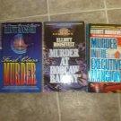 Elliott Roosevelt lot of 3 pb mystery novels books Eleanor historical