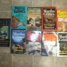 Martha Grimes lot of 9 pb mystery novels books Richard Jury Scotland Yard cozy