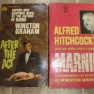 Winston Graham lot of 2 pb mystery suspense books Marnie vintage Hitchcock