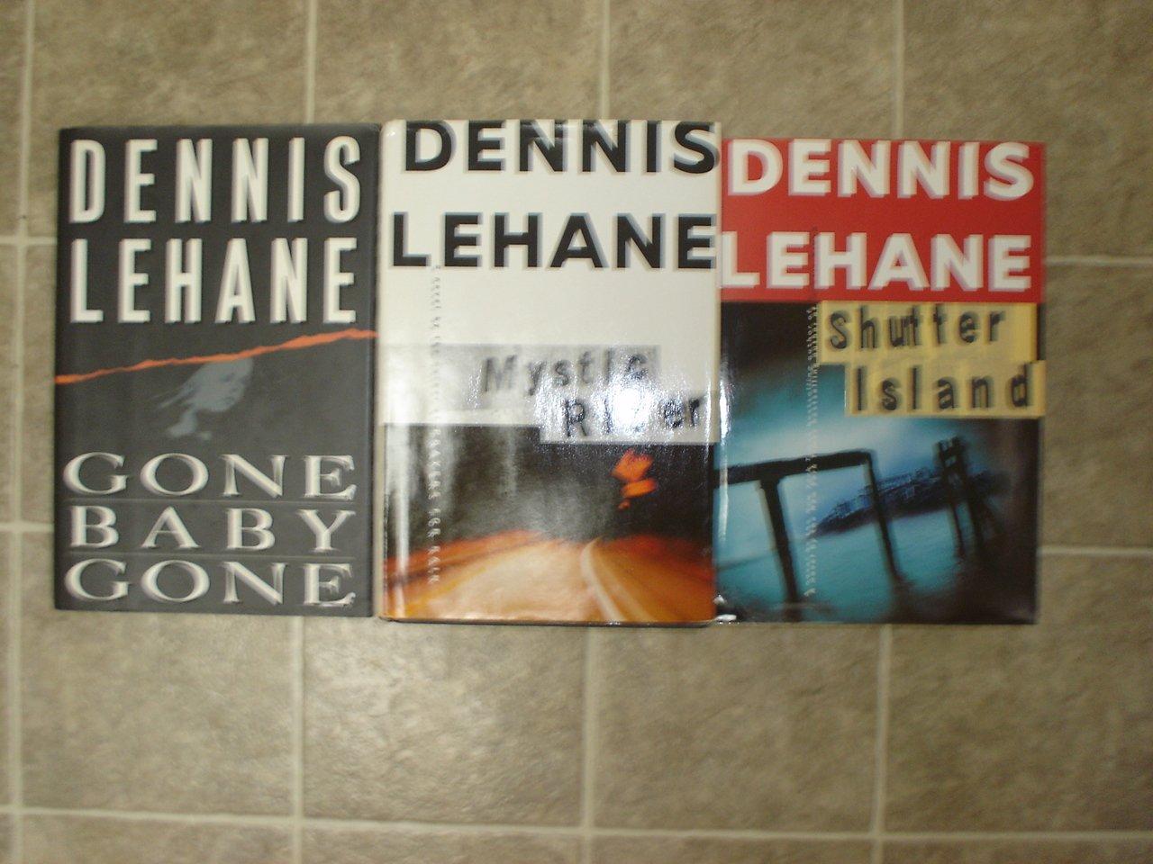 Dennis Lehane lot of 3 HC Mystery novels books w/ 2 First Editions