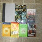 Kathy Reichs lot of 6 pb HC mystery books novels Bones