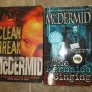 Val McDermid lot of 2 pb mystery books British hardboiled