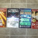Dan Brown lot of 4 pb mystery suspense books novels Da Vinci Code