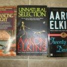 Aaron Elkins lot of 3 pb mystery books Gideon Oliver Chris Norgren