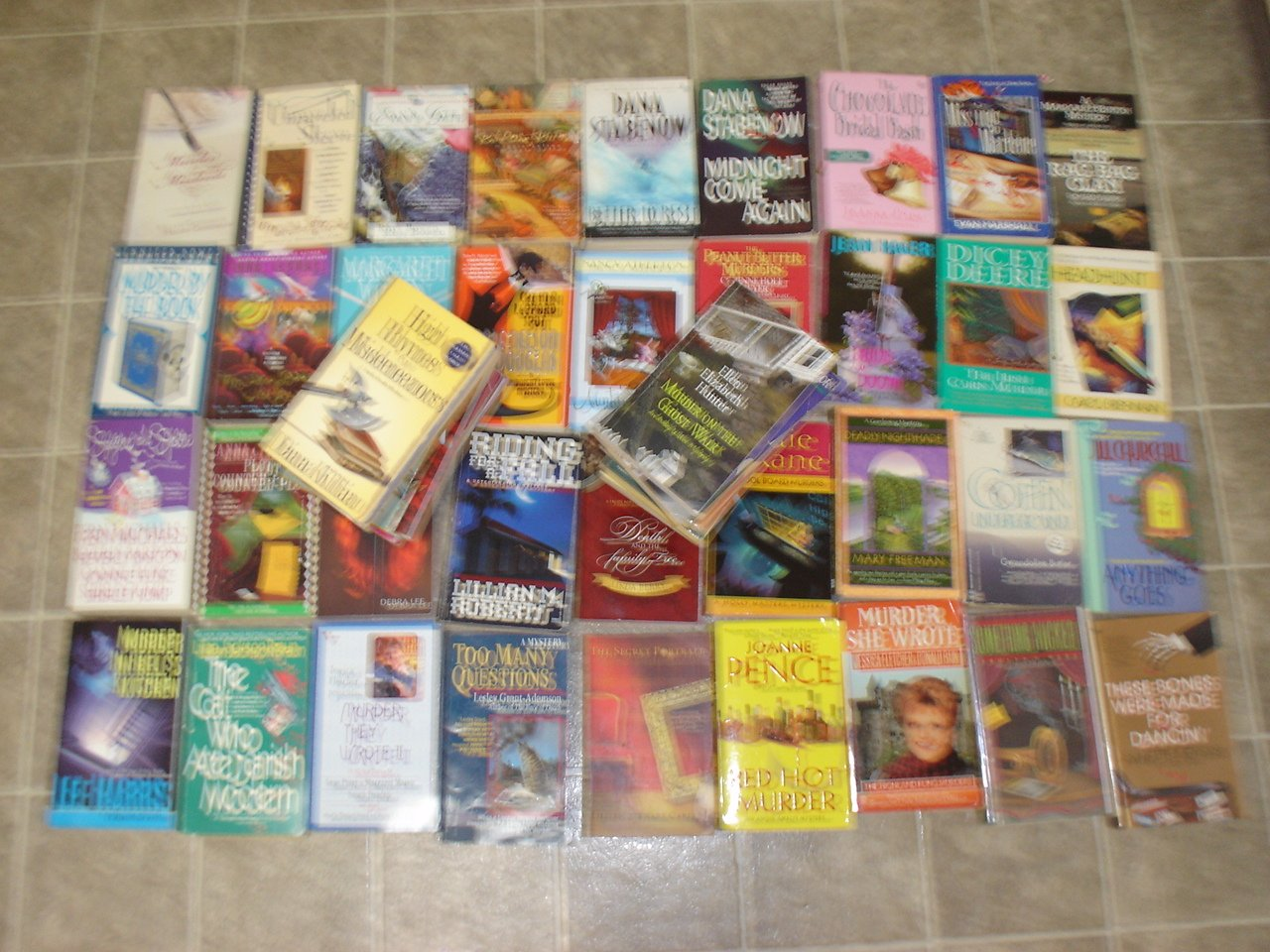 Make Your Own cozy mystery sampler lot of 5 mystery novels books #1