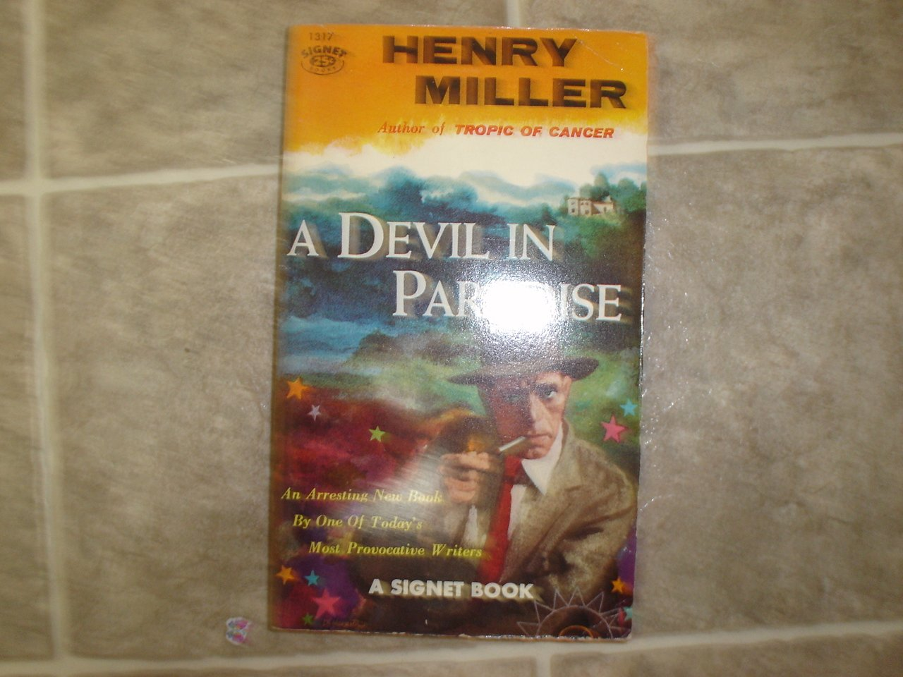 "Henry Miller ""A Devil in Paradise"" 1956 vintage pulp rare 1st edition"