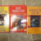 Lee Martin lot of 3 pb mystery books cozy Deb Ralston Mormon Ft Worth Texas