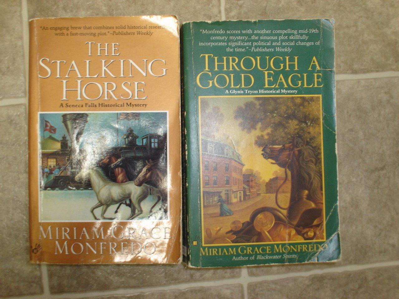 Miriam Grace Monfredo lot of 3 pb mystery books Seneca Falls Historical Berkley Prime Crime