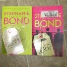 Stephanie Bond lot of 2 pb comic mystery books Sexy Body Movers