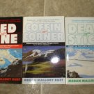 Megan Mallory Rust lot of 3 pb mystery books cozy Alaska Aviator Taylor Morgan Berkley Prime Crime