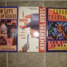 Sarah Shankman lot of 4 pb mystery books cozy Samantha Adams