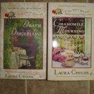 Laura Childs lot of 2 pb cozy mystery books Tea Shop Berkley Prime Crime