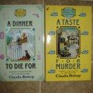 Claudia Bishop lot of 2 pb cozy mystery books Hemlock Falls Berkley Prime Crime