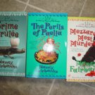 Nancy Fairbanks lot of 3 pb mystery books cozy Culinary Carolyn Blue Berkley Prime Crime