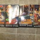 Michael Stone lot of 4 pb mystery books hard boiled Streeter Denver