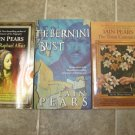 Iain Pears lot of 3 pb mystery books art history Berkley Prime Crime