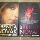 Brenda Novak lot of 2 pb romantic suspense mystery books Perfect Liar Murder