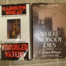 Carolyn Wheat lot of 2 pb mystery books Brooklyn Lawyer Cass Jameson Berkley Prime Crime