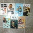 Michael Collins aka Dennis Lynds lot of  7 pb mystery novels books hardboiled Dan Fortune