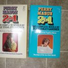Erle Stanley Gardner lot of 2 pb mystery books vintage Double volumes Perry Mason