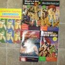 Sparkle Hayter lot of 5 pb mystery books comic Robin Hudson