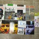 Bill James lot of 10 pb hc mystery novels British hard boiled Harpur & Iles