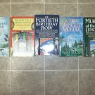 Valerie Wolzien lot of 5 pb mystery books cozy Susan Henshaw