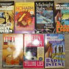 Wendy Hornsby lot of 7 pb mystery novels Investigative Filmmaker Maggie MacGowen