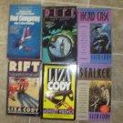 Liza Cody lot of 6 pb British mystery books Anna Lee
