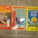 Walter Satterthwait lot of 3 pb mystery Joshua Croft Santa Fe New Mexico