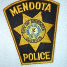 Mendota Police Department patch