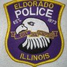 Eldorado Police Department patch