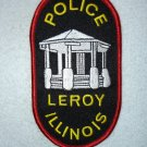 Leroy Police Department patch