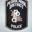 Peoria Park District Police Department patch