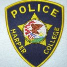 Harper College Police Department patch