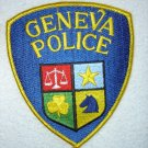 Geneva Police Department patch