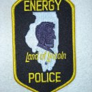 Energy Police Department patch