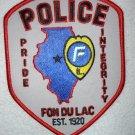 Fon Du Lac Police Department patch