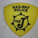 "The ""J"" Railway Police patch"