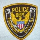 Fairmont Police Department patch