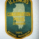 Illinois Department of Natural Resources Conservation Police patch