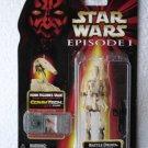 Star Wars TPM Battle Droid (Beige with Silver Battle Damage)