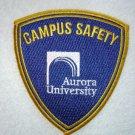 Aurora University Campus Safety patch
