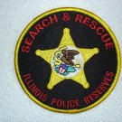 Illinois Police Reserves Search & Rescue patch