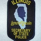 Illinois Secretary of State Police patch
