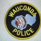 Wauconda Police Department patch