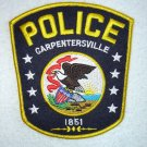 Carpentersville Police Department patch